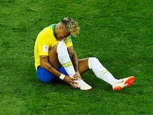 Brazil's Neymar during the game against Switzerland on June 17, 2018