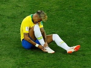 Brazil's Neymar during the game against Switzerland on June 17, 2018