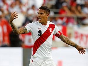 Team News: Peru captain Guerrero on bench