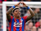 Patrick van Aanholt in action for Crystal Palace on April 28, 2018