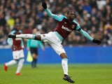 West Ham United's Pedro Obiang in action against Bournemouth on January 20, 2018