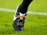 Rainbow laces in action