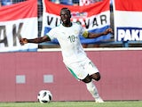 Sadio Mane in action for Senegal on June 9, 2018