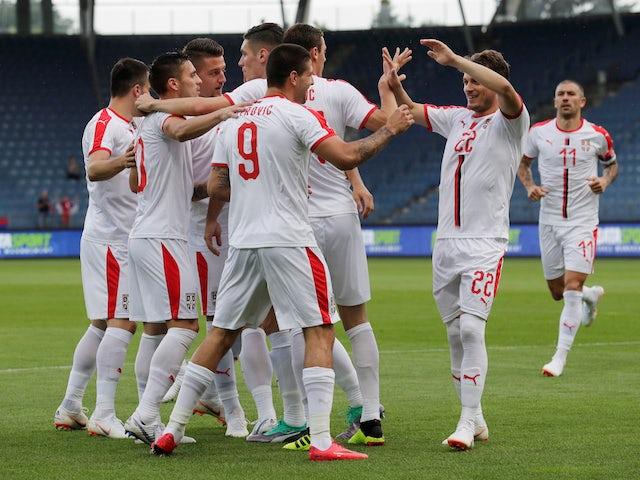 Result: Kolarov stunner gives Serbia opening win
