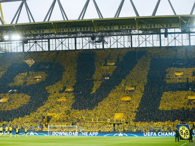 Borussia Dortmund increase stadium capacity