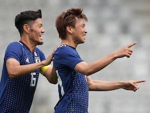 Inui nets brace as Japan beat Paraguay