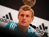 Toni Kroos at a Germany press conference on June 14, 2018