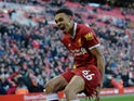 Trent Alexander-Arnold in action for Liverpool on February 24, 2018