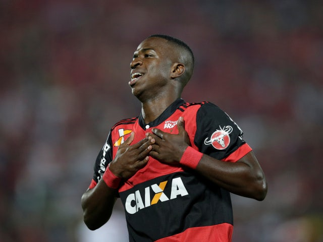 Vinicius unsure when he will join Madrid