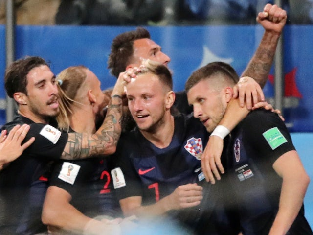 Result: Croatia end Russia's run to reach semis