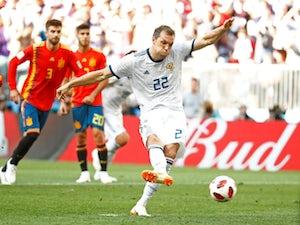 Wolves, Everton scout Russian striker?