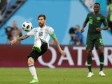 Argentina's Lionel Messi in action against Nigeria on June 26, 2018
