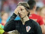 Croatia's Luka Modric before the match against Iceland on June 26, 2018