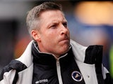 Millwall manager Neil Harris on April 2, 2018