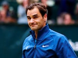 Switzerland's Roger Federer after losing the Halle Open final against Croatia's Borna Coric on June 24, 2018