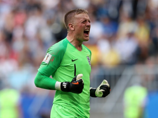 Pickford: 'I was relaxed during WC shootout'