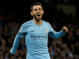Manchester City's Bernardo Silva in action on May 9, 2018