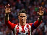 Atletico Madrid striker Fernando Torres bids farewell to fans at the end of the 2017-18 season.