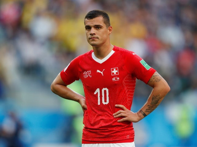 Xhaka offers Swiss captaincy to Shaqiri?