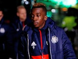 Anderlecht's Henry Onyekuru before the game against Celtic on December 5, 2017