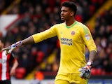 Sheffield United's Jamal Blackman on February 10, 2018