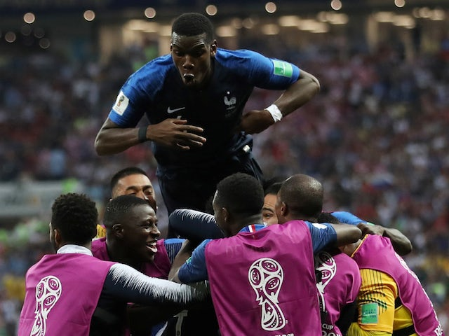 Result: France win 2018 World Cup