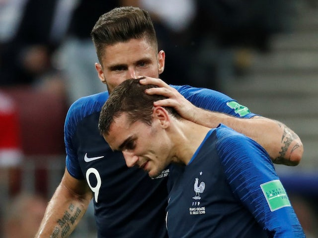 e6b4239ae Antoine Griezmann   I want to sleep with World Cup crown  - Sports Mole