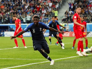 Live Commentary: France 1-0 Belgium - as it happened