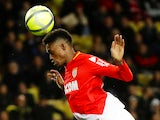 Adama Diakhaby leaping for Monaco on January 16, 2018