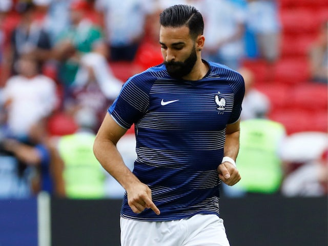 Adil Rami accused of 'sexist online post'