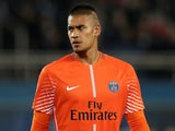 Alphonse Areola in action for PSG in the Champions League on October 31, 2018