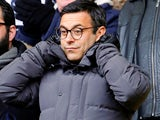 Leeds United owner Andrea Radrizzani, pictured on February 10, 2018