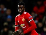 Axel Tuanzebe in action for Manchester United in the Champions League on December 5, 2017