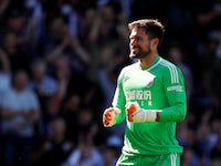 Ben Foster in action for West Bromwich Albion on May 5, 2018