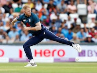Ben Stokes in action for England on July 17, 2018