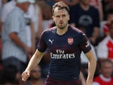 Carl Jenkinson in action for Arsenal in a pre-season friendly on July 14, 2018