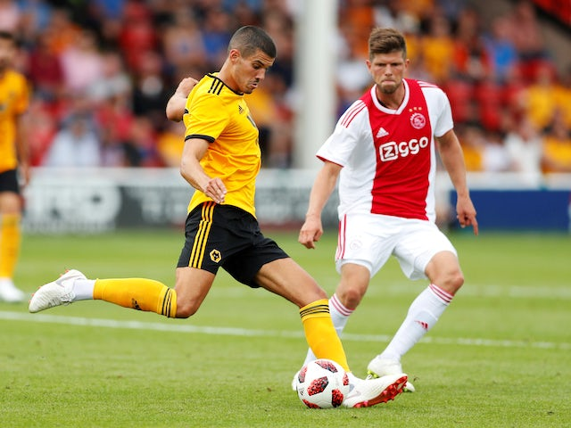 Result: Neves nets as Wolves draw with Ajax