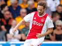 Daley Blind in action during the pre-season friendly between Ajax and Wolverhampton Wanderers on July 19, 2018