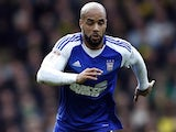 David McGoldrick in action for Ipswich Town on March 1, 2017