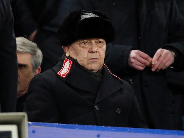 West Ham United co-owner David Sullivan pictured on November 29, 2017