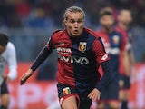 Diego Laxalt in action for Genoa on February 17, 2018