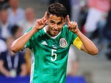 Diego Reyes in action for Mexico on June 21, 2017