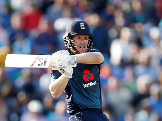 Eoin Morgan in action for England against India on July 17, 2018