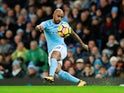 Fabian Delph in action for Manchester City on January 2, 2018