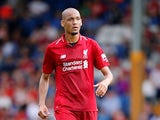 Liverpool midfielder Fabinho in action during a pre-season friendly with Bury in July 2018