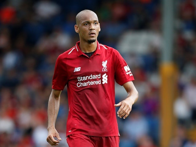 Fabinho ready to make Liverpool debut