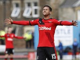 Harry Forrester in action for Rangers in April 2016
