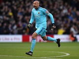 Heurelho Gomes in action for Watford on December 30, 2017
