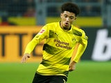Jadon Sancho in action for Borussia Dortmund on November 4, 2017