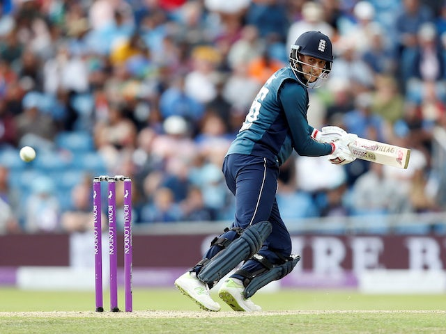 Joe Root in action for England against India on July 17, 2018